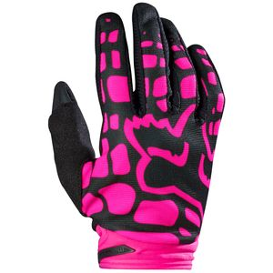 Gants cross Fox DIRTPAW WOMENS 2017 - NOIR ROSE