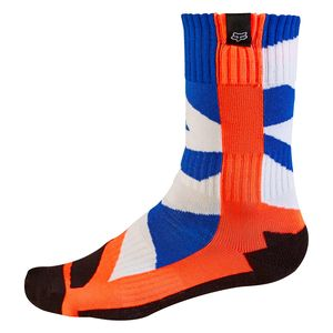 Chaussettes Fox MX YOUTH CREO 2017 - ORANGE
