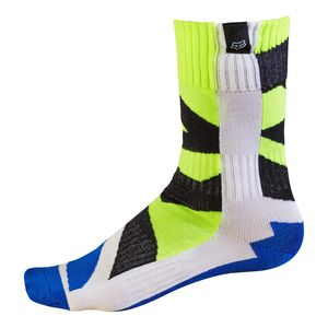 Chaussettes Fox MX YOUTH CREO 2017 - BLANC JAUNE