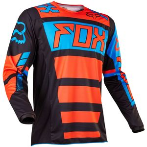 Maillot cross Fox 180 FALCON 2017 - NOIR ORANGE