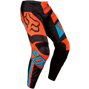 Pantalon cross Fox 180 FALCON 2017 - NOIR ORANGE