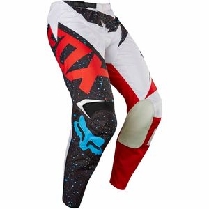Pantalon cross Fox 180 NIRV 2017 - ROUGE BLANC