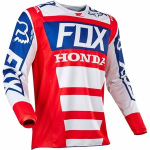 Maillot cross Fox 180 HONDA 2017- ROUGE BLANC