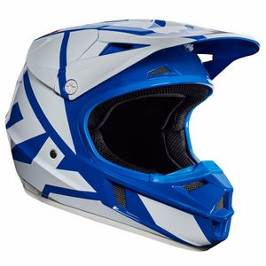 Casque cross Fox V1 YOUTH RACE 2017 - BLEU