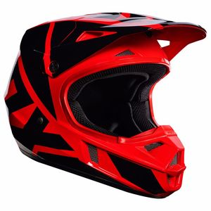 Casque cross Fox V1 YOUTH RACE 2017 - ROUGE