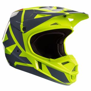 Casque cross Fox V1 YOUTH RACE 2017 - JAUNE