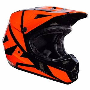 Casque cross Fox V1 YOUTH RACE 2017 - ORANGE