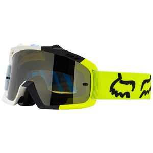 Masque cross Fox AIR SPACE YOUTH CREO 2017 - BLANC JAUNE