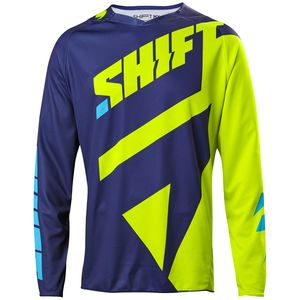 Maillot cross Shift 3LACK MAINLINE 2017 - JAUNE FLUO