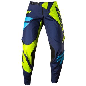 Pantalon cross Shift 3LACK MAINLINE 2017 - JAUNE FLUO