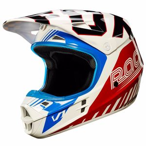 Casque cross Fox V1 YOUTH - Edition Limitée FIEND 2017