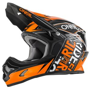 Casque cross O'Neal 3 SERIES KID FUEL 2017  NOIR ORANGE