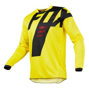 Maillot cross Fox 180 MASTAR - JAUNE -