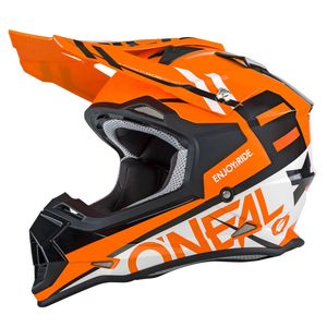 2 SERIES RL SPYDE - ORANGE BLANC -