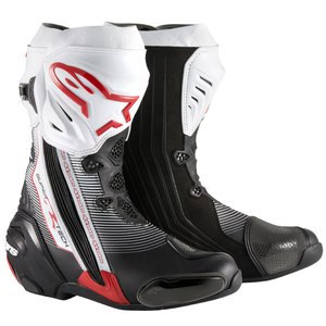 Bottes Alpinestars SUPERTECH R GRAPHIC Black/Red/White