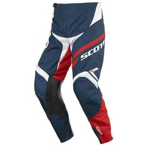 Pantalon cross Scott Déstockage 350 TRACK 2016 BLEU ROUGE