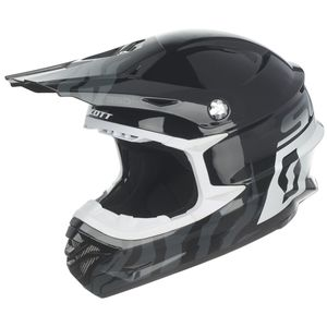 350 PRO RACE BLACK WHITE ENFANT