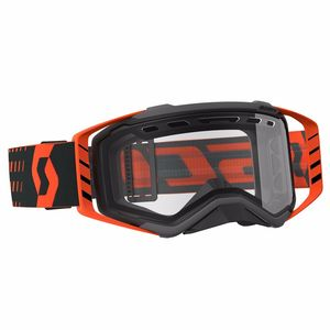 PROSPECT ENDURO - BLACK ORANGE - ECRAN DOUBLE CLAIR