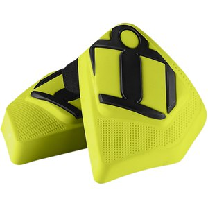 Sliders Icon KNEE PUCK Jaune Fluo