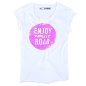 T-shirt manches courtes Dainese N'JOY LADY White