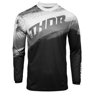 Maillot cross Thor SECTOR - VAPOR - BLACK WHITE