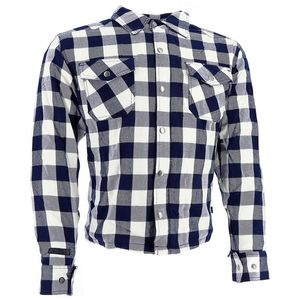 LUMBER SHIRT - BLUE WHITE
