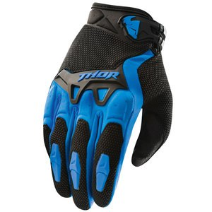 Gants cross Thor YOUTH SPECTRUM 2017 - BLEU