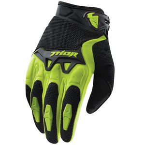 Gants cross Thor SPECTRUM 2017 - VERT