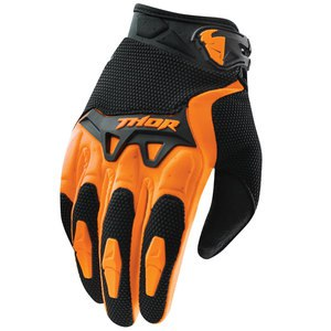 Gants cross Thor SPECTRUM 2017 - ORANGE