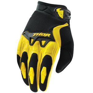 Gants cross Thor SPECTRUM 2017 - JAUNE