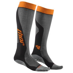 Chaussettes Thor YOUTH MX COOL 2017 - GRIS ORANGE