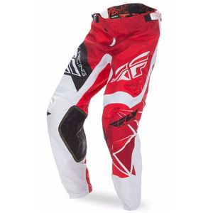 Pantalon cross Fly KINETIC CRUX - ROUGE BLANC - 2017