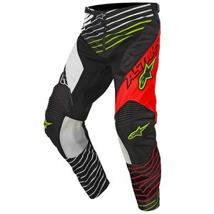 Pantalon cross Alpinestars RACER BRAAP RED WHITE BLACK 2017