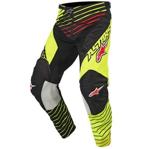 Pantalon cross Alpinestars RACER BRAAP YELLOW FLUO BLACK 2017