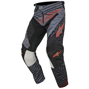 Pantalon cross Alpinestars RACER BRAAP DARK GRAY BLACK ORANGE FLUO 2017