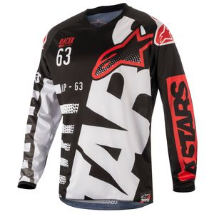RACER BRAAP BLACK WHITE RED