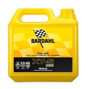 Huile moteur Bardahl XT-S C60 5W40 4 litres