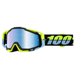 Masque cross 100% RACECRAFT - ANTIGUA BLUE LENS