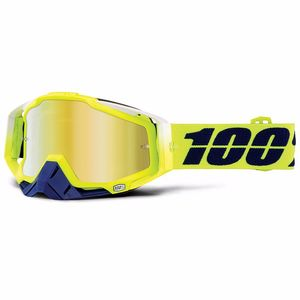 Masque cross 100% RACECRAFT - TANAKA GOLD LENS
