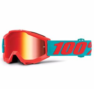 Masque cross 100% ACCURI JUNIOR - PASSION RED LENS
