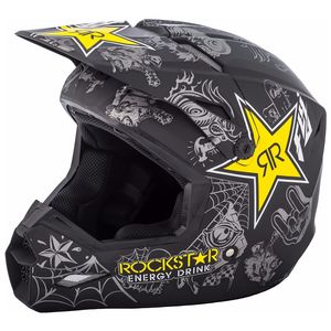 ELITE ROCKSTAR - MATTE BLACK GREY