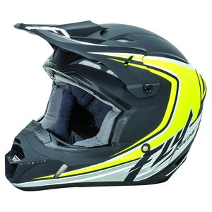 KINETIC FULL SPEED - NOIR JAUNE FLUO (mat) -