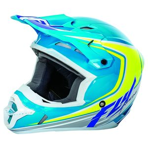KINETIC FULL SPEED - BLEU JAUNE FLUO BLANC -