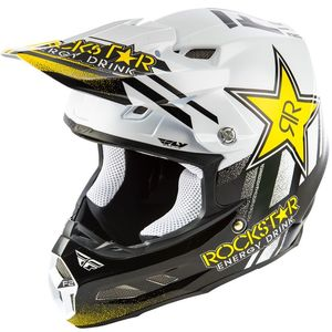 F2 CARBON MIPS - ROCKSTAR - BLACK WHITE