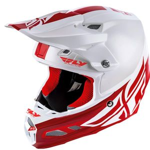 F2 CARBON MIPS - SHIELD - WHITE RED