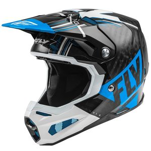 FORMULA CARBON VECTOR - BLUE WHITE BLACK GLOSSY