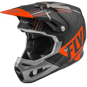 FORMULA CARBON VECTOR - ORANGE GREY BLACK MATT