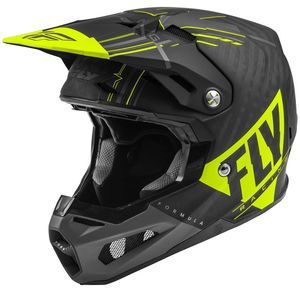 FORMULA CARBON VECTOR MATTE HI-VIS GREY BLACK