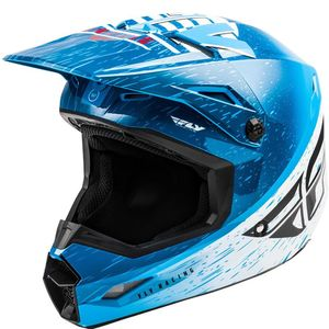 KINETIC K120 BLUE WHITE RED