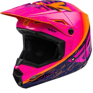 KINETIC K120 ORANGE PINK BLACK